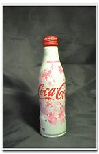 Japan Coke Coca-cola 2017 Cherry Blossom Design Aluminum Bottle Special Edition