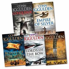 Conn Iggulden Conqueror Series All 5 Hardback Books Set All 1st Editions