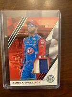 2020 Panini Chronicles Racing BUBBA WALLACE 2 Color Patch 3/25 Relic SSP