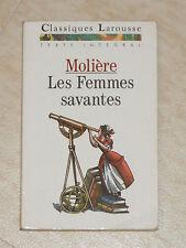 """Livre """"Les Femmes Savantes"""" De Molière (Pièce De Théâtre)"""