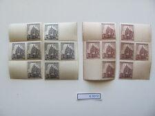 (E5012) B&M. Nr.140-141** Mittelstücke MWU-1 +2  Prager Burg