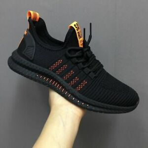 Men's Sneakers Mesh Casual Shoes Lace-up Shoes Lightweight Walking Sneaker Shoes