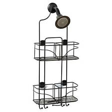 Over The Shower Head Caddy Zenna Home E7446HB Expandable in Bronze Color Durable