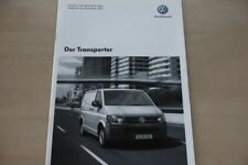 185792) VW Bus T5 Transporter - Preise & t. Daten & Ausstattungen - Prospekt 11/