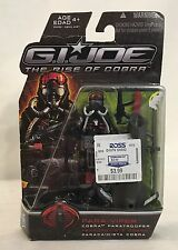 Gi Joe the Rise Of Cobra ROC Para-Viper Cobra Paratrooper new 2009 25th 30th