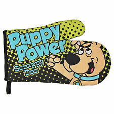 Scrappy Doo Puppy Power Oven Glove. Kitchen Mitt BBQ Classic Kids TV Scooby-Doo