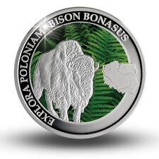 Niue Island 1$ Dollar Bison Ur зубр 野牛 原牛 2014