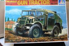 Italeri 1/35 Tractor en caja de la Segunda Guerra Mundial Modelo Kit Pistola