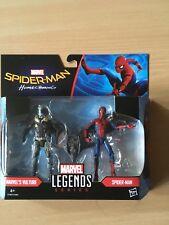 FIGURINES MARVEL LEGENDS Homecoming Spiderman Vautour Twin Pack Hasbro