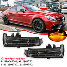 Right+Left Mirror Indicator Turn Signal Light For Mercedes W204 W212 W221 07-13