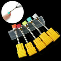Portable Drill Brush Electric Nail Art File Drill Bit F/ Cleaning Brush Manicure