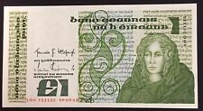 1977-89 Ireland 1pound pick 70a LHG 751135 circulated condition