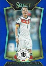 2015 Panini Select Soccer Base Common Blue Parallel Numbered to /299 - (41-60)