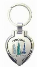 Schlüsselanhänger CHICAGO für Foto !! Souvenir USA Amerika,NEU,Keyring,8,5 cm