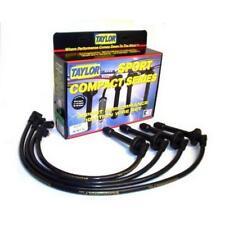 Taylor Spark Plug Wire Set 77508; Spiro Pro 8mm Lime Green for Honda 4 Cylinder