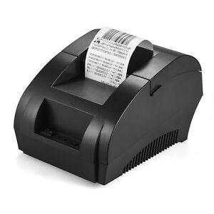 POS-5890K Portable Receipt Thermal Printer 58mm USB Ticket POS Cash Drawer A2J0