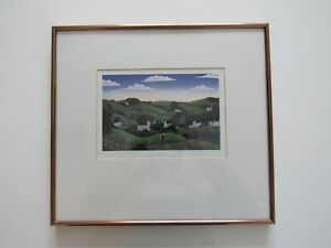 "Framed Print - Thomas McKnight, ""Connecticut Valley"""