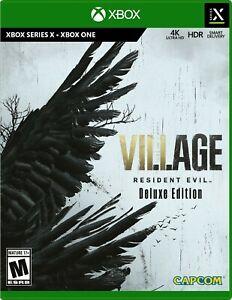 Resident Evil Village Edizione Deluxe  XBOX SERIES S|X/ONE LEGGERE DESCRIZIONE