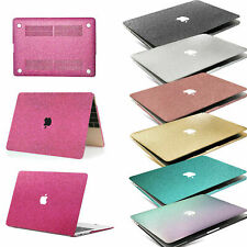 Hot Shinny Shine Glitter Coated Plastic Hard Case Cover For New Macbook Pro Air