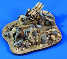 Verlinden 1/35 Nebelwerfer Base, Ammunition, Gear & Crew WWII (3 Figures) 2766