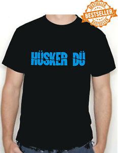HUSKER DU T-Shirt / Tee / Rock / Punk / USA / MUSIC / BIRTHDAY / Indie / S-XXL