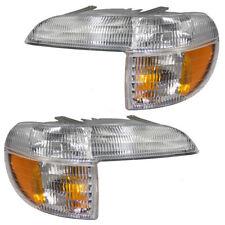 Park Turn Signal Light 95-01 Ford Explorer Mountaineer Driver & Passenger Side