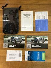 New Listing2019 Dodge Ram 1500 Owners Manual V6 3.6L V8 5.7L 4Wd Rwd Pickup Truck