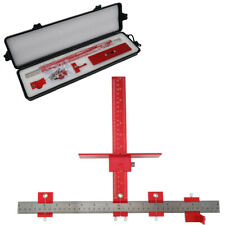 Power Tool Punch Locator Drill Guide Sleeve Cabinet Hardware Jig Aluminum