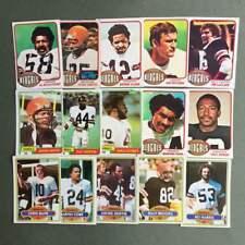 Lot cartes NFL Cincinnati Bengals Topps 1976 1980 1981 Football Américain