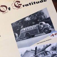 1950s CHEVROLET Chevy ADVERTISING Brochure Mailer Thanksgiving HEINZ Mobil TRUCK
