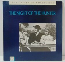 The Night Of The Hunter - Criterion Collection Laserdisc Ld 1955 Laughton