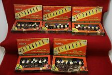 Lot of 7 Boxes of Vintage Noma Christmas Tree Lights - I4