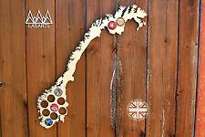 Norway Beer Cap Map Bottle Cap Map Collection Beer Gift