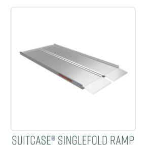 EZ-ACCESS SUITCASE Singlefold Portable Ramp, 5' 5 Foot Standard