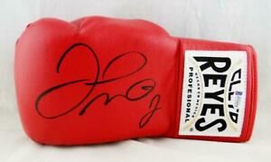 Floyd Mayweather Autographed Red Cleto Reyes Boxing Glove - Beckett Authentic