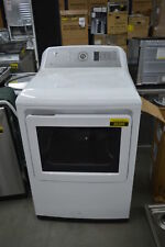 "Ge Gtd75Gcslws 27"" White Front Load Gas Dryer Nob #36396 Clw"