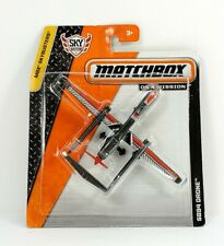 Matchbox 2013 Sky Busters SB94 Drone Black Red NEW
