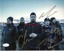 Deftones Signed 8x10 Autographed Photo reprint