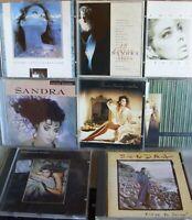 Sandra- 8-CD-Sammlung WIE NEU