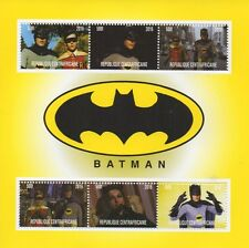 BATMAN ORIGINALE TV SHOW Adam West CATWOMAN 2016 MNH STAMP SHEETLET