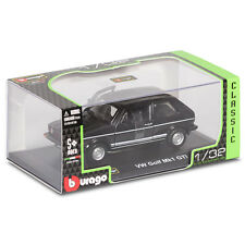 BURAGO CLASSIC VW GOLF MK1 GTI 1:32 SCALE, DIE CAST MODEL COLLECTABLE