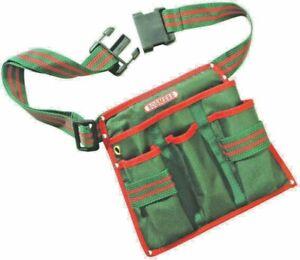 Bosmere 4 Pocket Gardener or Workshop DIY Tool Belt Carry Pouch