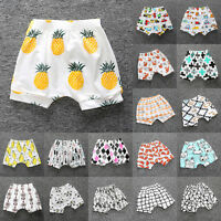 Baby Boy Girl Kid Toddler Bloomer Shorts Bottoms Printed Harem Pants Summer New