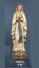 Immagini Statue Sacre Madonna di Lourdes in resina h 40 cm by Paben.