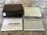 2016 Kia Optima Owners Manual With Case OEM Free Shipping