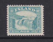 Islande-SG 200-v/L/M - 1932 - 75 A-Bleu verdâtre-Falls