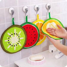 torchons maison nettoyage serviettes mignon cartoon Fruit multifonctionnel chaud