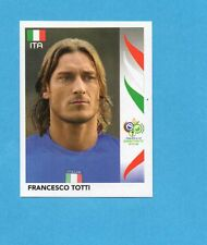 PANINI-GERMANY 2006-Figurina n.338- TOTTI - ITALIA -NEW BLACK