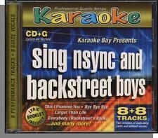 Karaoke CD+G - 'NSync & The Backstreet Boys - New 8 Song Hits CD! Hits by Each!