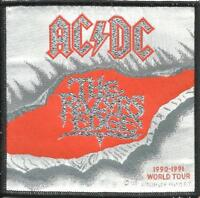 AC/DC razors edge 1991 - WOVEN SEW ON PATCH - official merch - no longer made